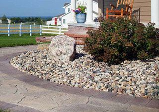 ... Your Walkway, Flower Bed, Or Any Rock Project And We Can Help Fit The  Look That Fits Your Budget With The Right Landscape Rocks And Landscape  Materials.